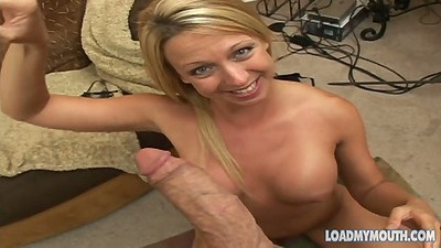 Pov blowjob and facial ejaculation shots for this biatch