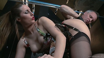 Ass licking whore in stockings Paige Turnah